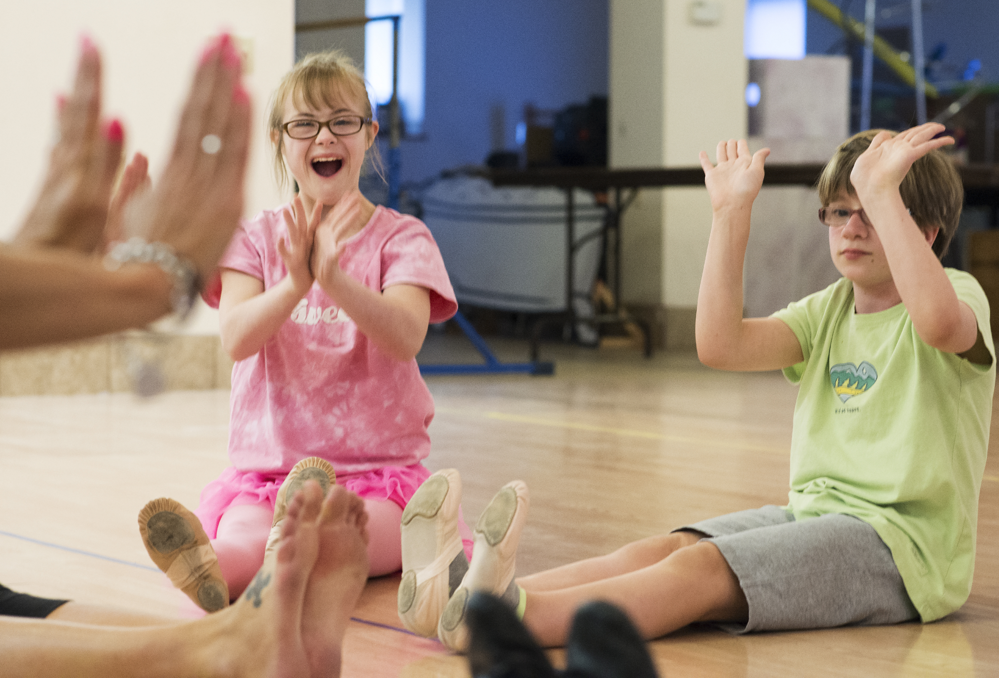 Special Needs Class Gives Children Chance to Dance