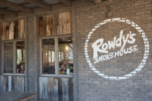 With seating indoors and out, Rowdy's brings in customers from all across the country.