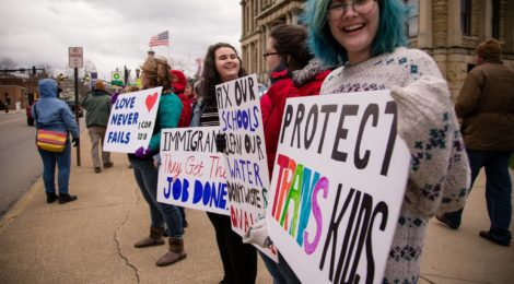 Women's Rights Activists Take a Stand in Millersburg