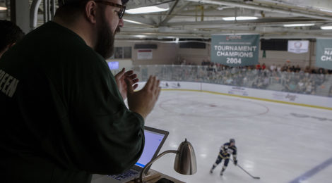 Ohio Hockey announcer's impact in Athens is felt far beyond the ice rink