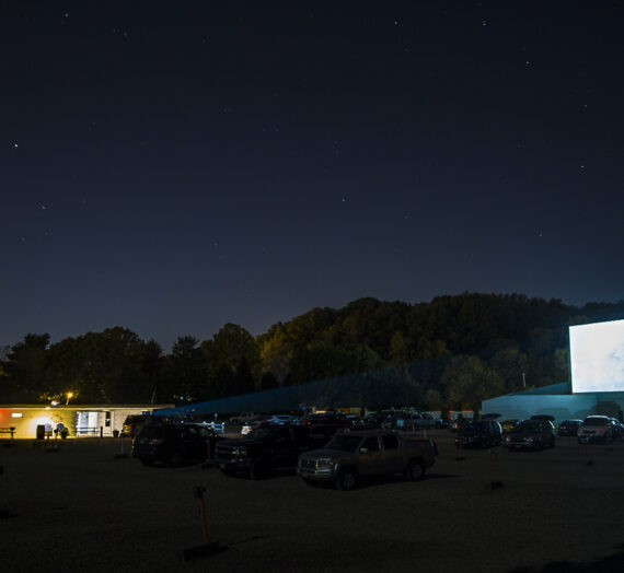 The Skyview Drive-In theatre in Lancaster operates as a hallmark of Americana culture
