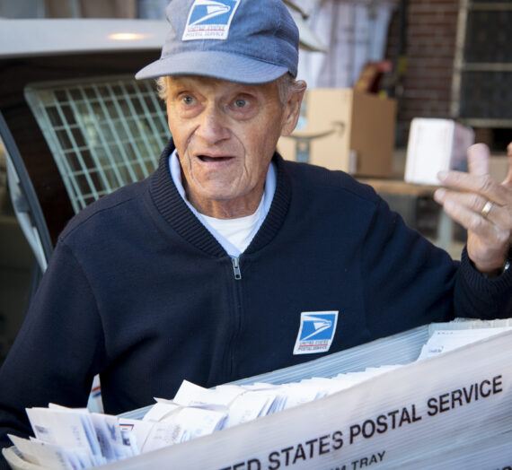 Two of Pomeroy's most familiar faces have been delivering mail for more than three decades