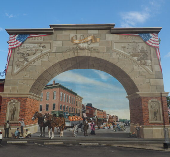Historic Murals of Pickaway County are a Must-Visit for Art Lovers of Ohio