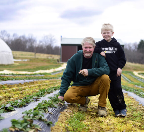 Stewart produce farmer finds his niche while battling the weather