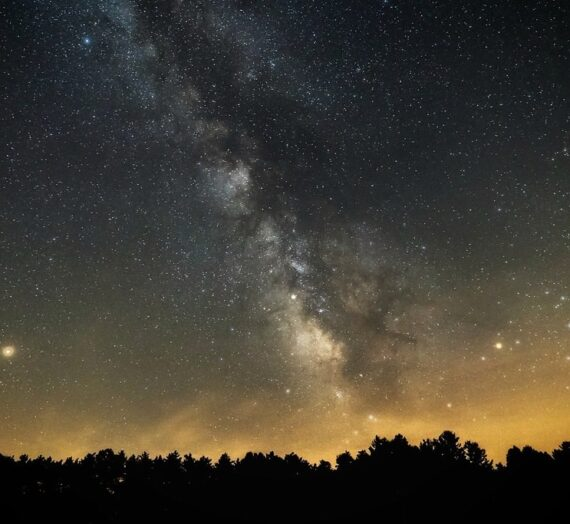 See the Galaxy at John Glenn Astronomy Park