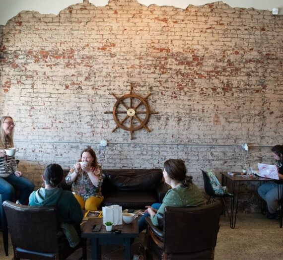 How a Pomeroy Coffeehouse Survived a Flood, and Thrived