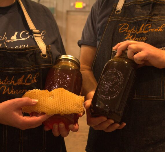 Dutch Creek Winery specializes in honey wine and community involvement