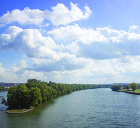 Blennerhassett and Wildlife Refuge Part of Ohio River Islands