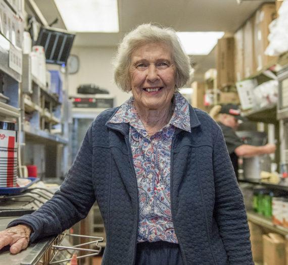 At 92 years old, Pomeroy's Vera Crow Still Operates Restaurant