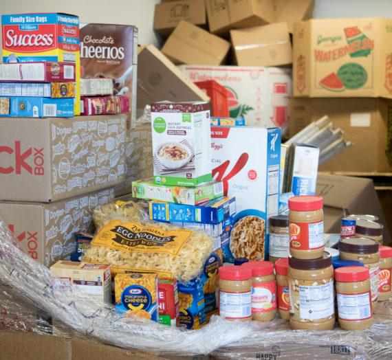 J216 Ministry in Bainbridge serves as an extensive food pantry